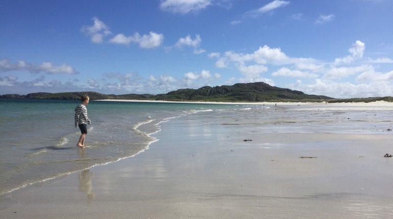 Uig beach lewis