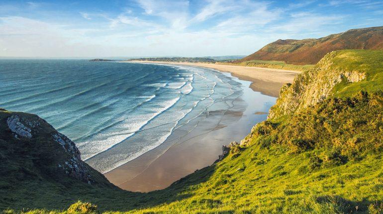 rhossili beach wales